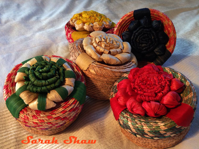 Patzcuaro Flower Baskets