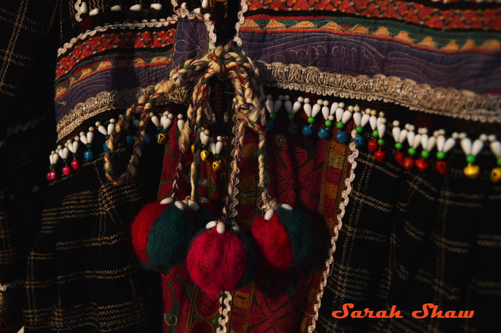 Detail of Tribal Coat from Rajasthan