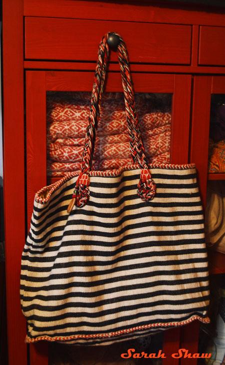 Striped Riviera Tote Bag