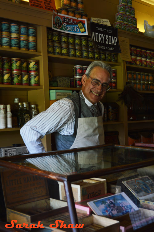 Shopkeeper at General Store