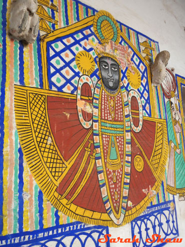 Mural in City Palace