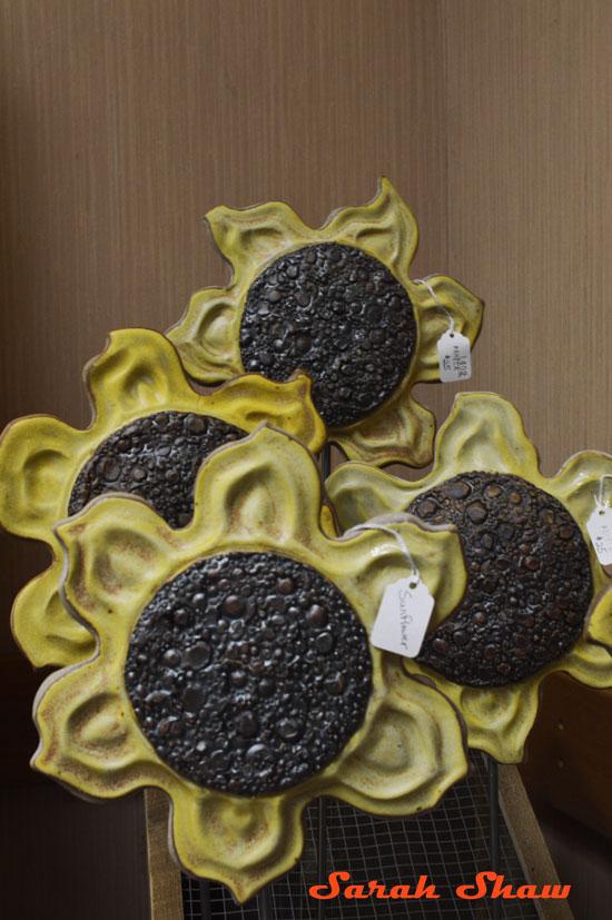 Sunflower Garden Stakes