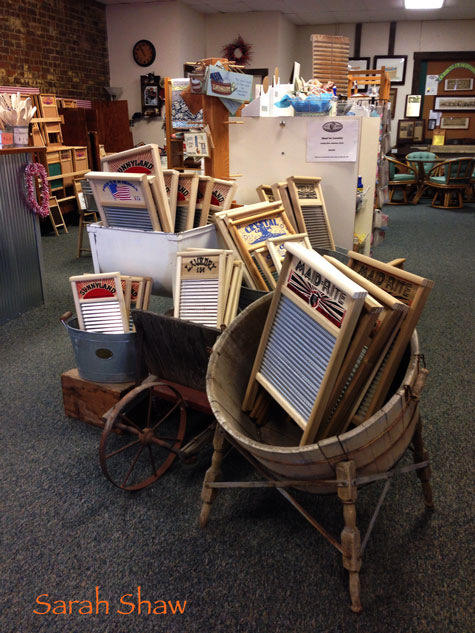 Gift Shop at the Columbus Washboard Company in Logan, Ohio