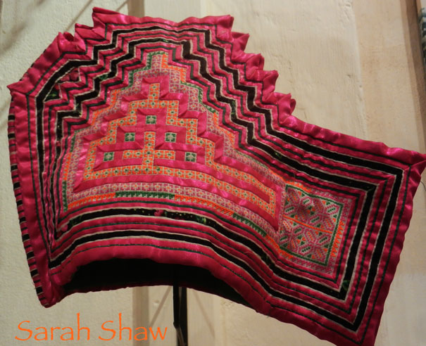 Embroidered Hmong Hat