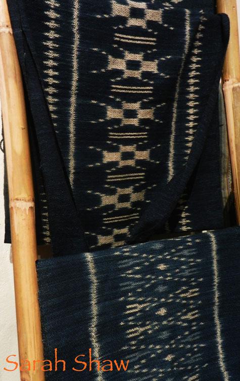 Indigo Ikat Scarves