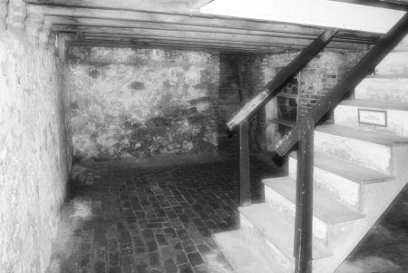 Poe Basement in Infrared