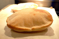 Pita bread for croutons