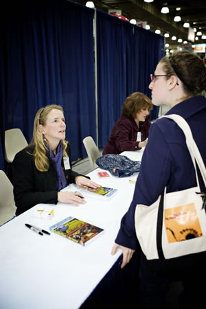 Beth Whitman at New York Times Travel Show