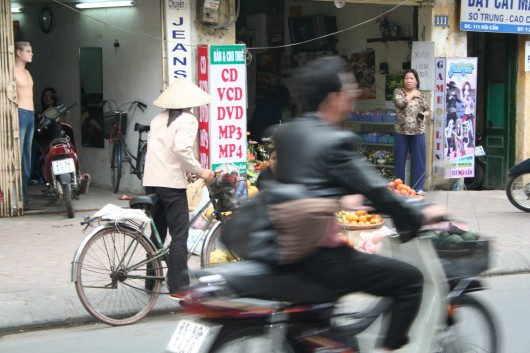 Motobike in Hanoi
