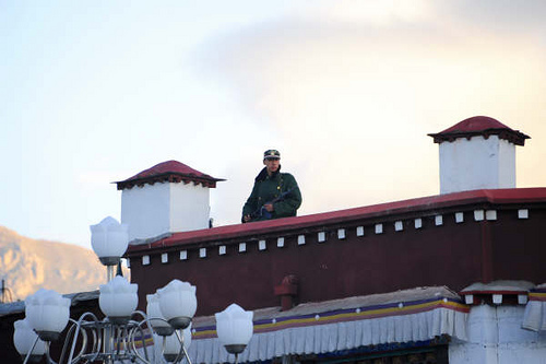 Guard at Lhasa