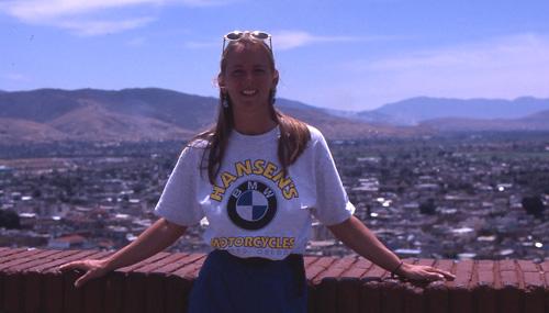 Beth in Oaxaca