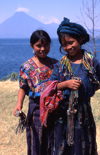 Girls in Guatemala