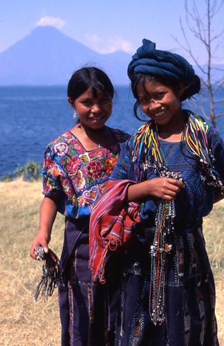 Girls in Guatemala