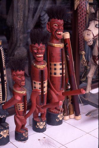 Penis Bells in Ubud