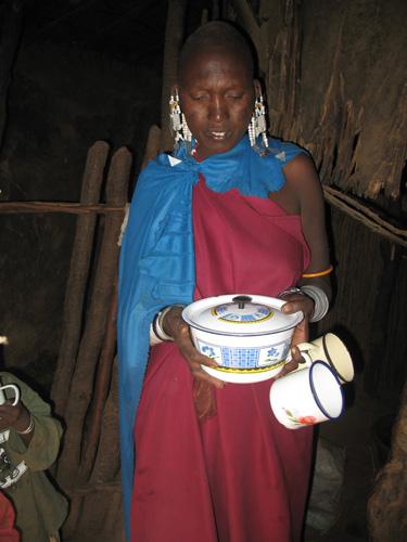 Mama with Food