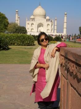 Sumitra at Taj