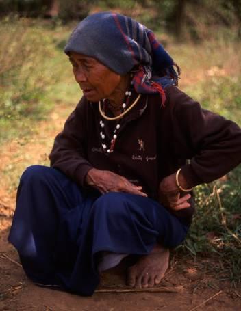 Old Woman in Vietnam