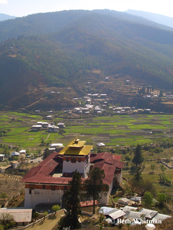 Sightseeing in Paro, Bhutan