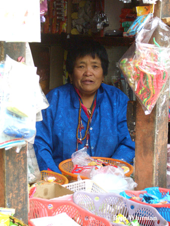 Woman in Wangdu