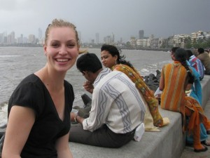 Woman Tourist in India