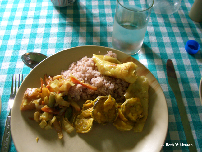 Bhutan foodplate