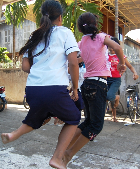 GirlsJumping