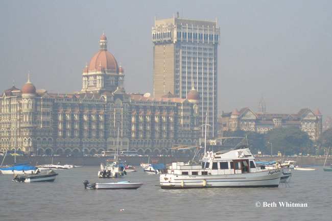 The Taj Mahal Hotel from