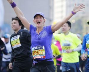 Beth Whitman Tokyo Marathon