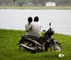 Motorcycle Couple