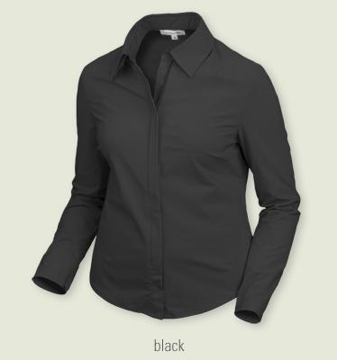 Contourwear zip blouse