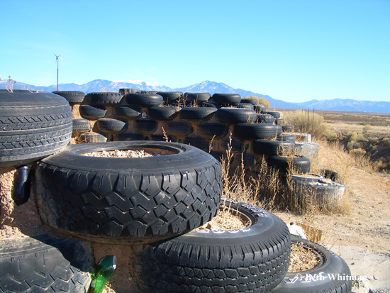 Earthship tires