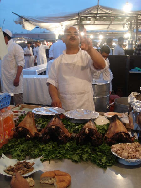 Marrakech vendor