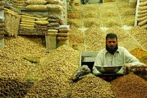 Dried fruit seller