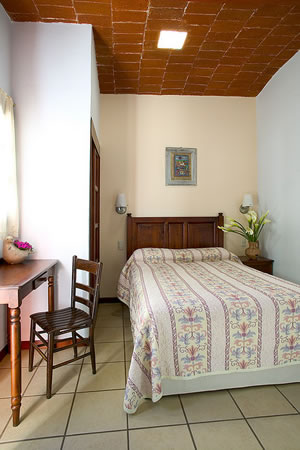 Hotel room in Oaxaca
