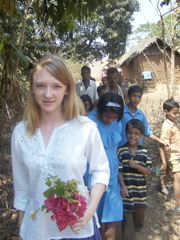 Chandler in India - Shelley Seale