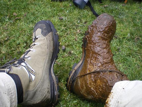 Boots in Peru