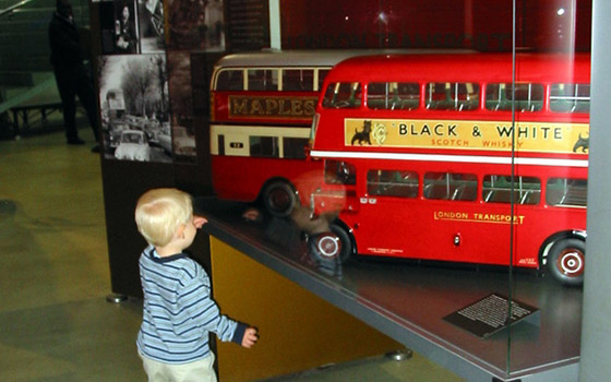 tomy at museum