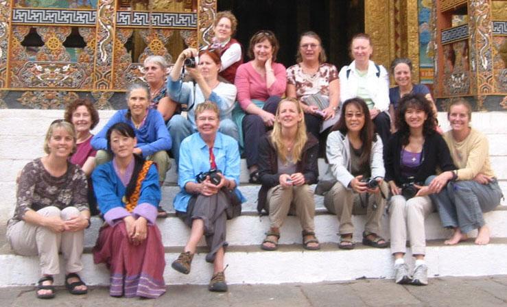 Bhutan Group April 2009