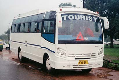 Tourist Bus India