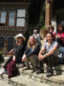 Gals in Gangtey Bhutan