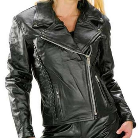 ladies biker outfit