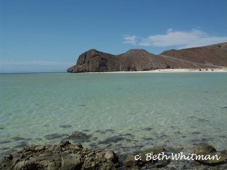 Beach in Baja