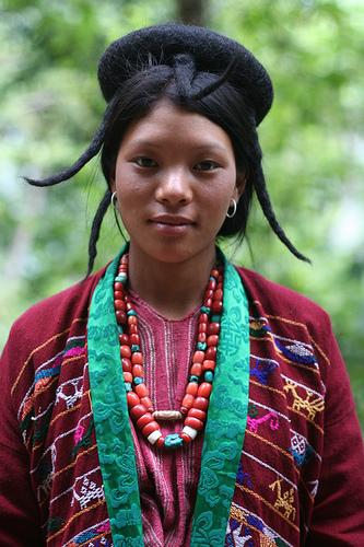 Woman in Jongkhar Bhutan