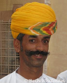 Rajasthan Turban Man