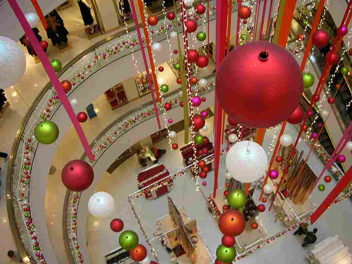 Christmas Decorations at Peter Jones London