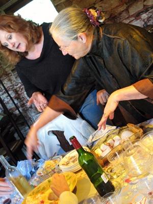 Daniele and Chef Laura