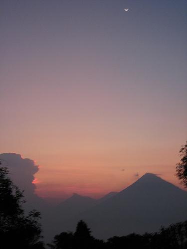 Pacaya Sunset