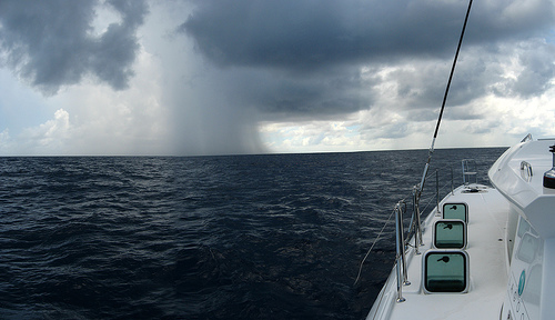 Storm and Boat