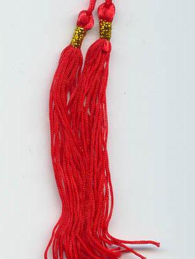 red tassle