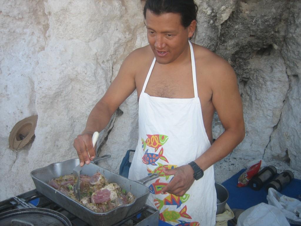 Edgar Cooking